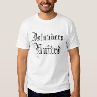 Islanders, United T-shirt