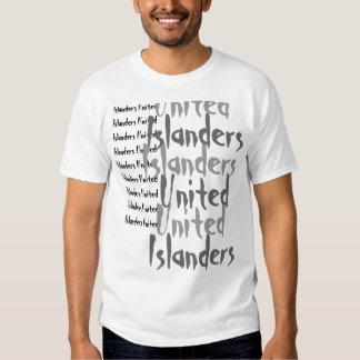 Islanders UnitedIslanders UnitedIslanders Unite... Tshirts