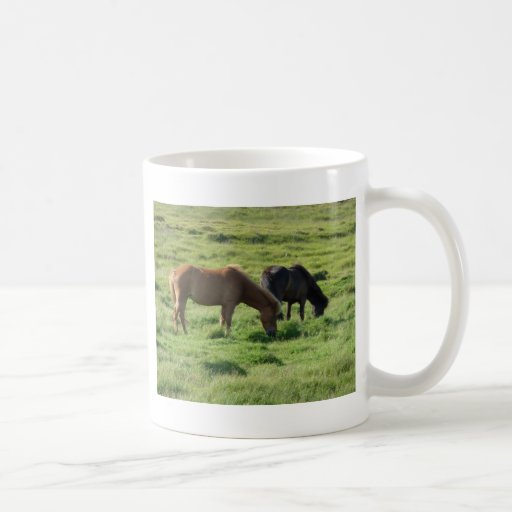 Islandpferde Coffee Mug