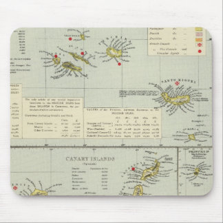 Islands, Atlantic Ocean Mouse Mat