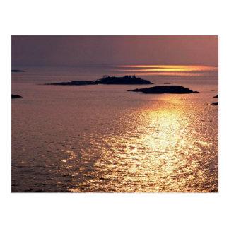 Islands in Georgian Bay, Lake Huron, Ontario, Cana Postcard