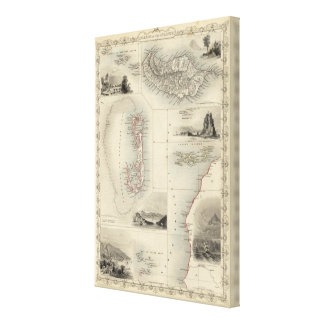 Islands In The Atlantic Canvas Print