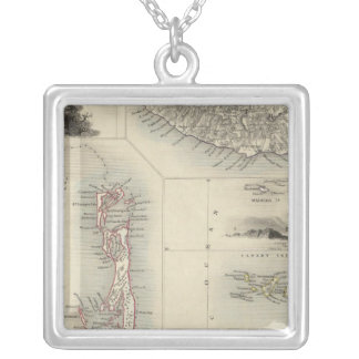 Islands In The Atlantic Silver Plated Necklace