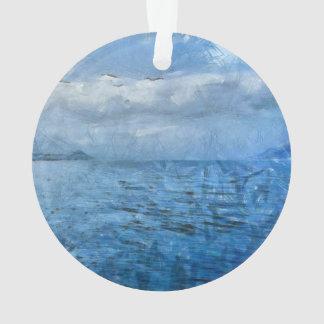 Islands in the blue sea