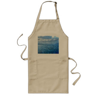 Islands in the blue sea long apron
