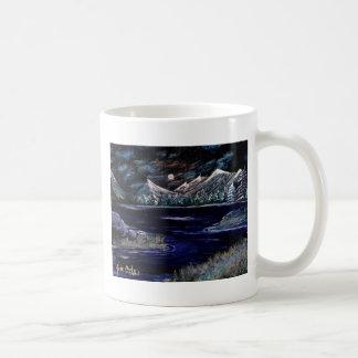ISLANDS IN THE STREAM ~ ~. BASIC WHITE MUG