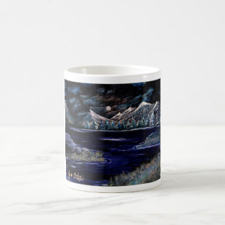 ISLANDS IN THE STREAM ~ ~. BASIC WHITE MUG