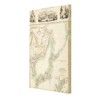 Islands of Japan Canvas Print