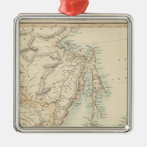 Islands of Japan Christmas Tree Ornaments