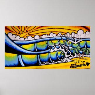 Islands Surf Poster