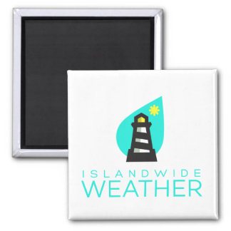 Islandwide Weather Square Magnet