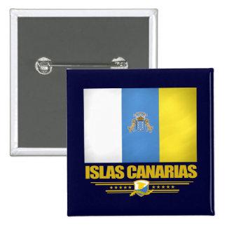 Islas Canarias (Canary Islands) 15 Cm Square Badge