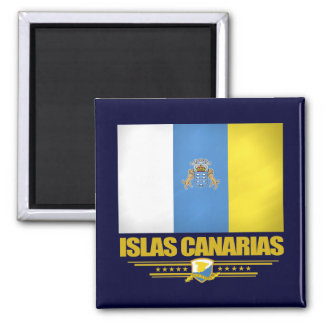 Islas Canarias (Canary Islands) Magnet