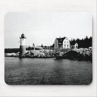 Isle Au Haut Lighthouse Mouse Pad
