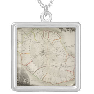 Isle De La Reunion Silver Plated Necklace