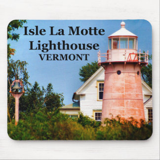 Isle La Motte Lighthouse, Vermont Mousepad