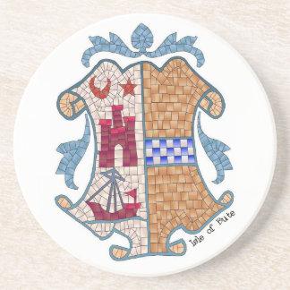 Isle of Bute Coat of Arms Coaster