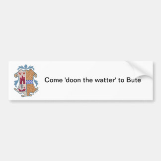 Isle of Bute Coat of Arms Sticker