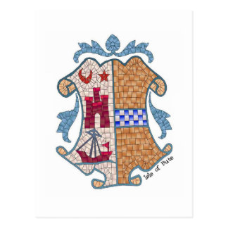 Isle of Bute Coat of Postcard