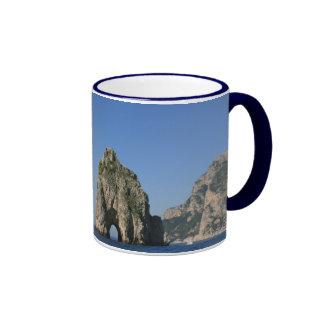 Isle of Capri Faraglioni Coffee Mug