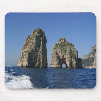 Isle of Capri Faraglioni Mouse Pads