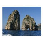 Isle of Capri, Faraglioni Postcard