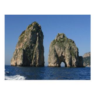 Isle of Capri Faraglioni Postcard