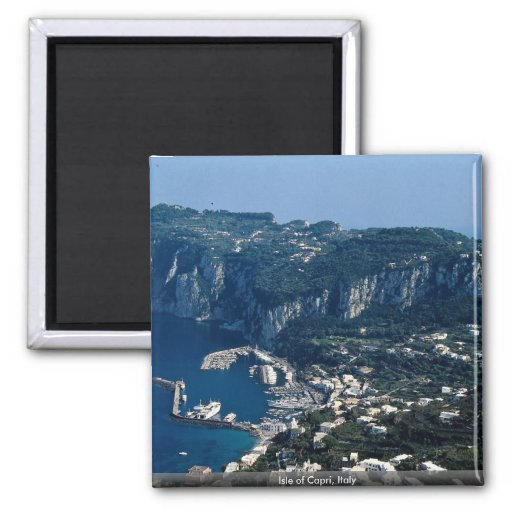 Isle of Capri, Italy Refrigerator Magnet
