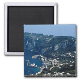 Isle of Capri, Italy Square Magnet