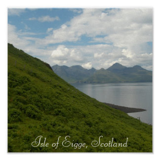 Isle of Eigge, Scotland Poster