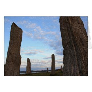 Isle of Lewis Standing Stones Card