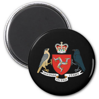 Isle of Man Coat of Arms 6 Cm Round Magnet
