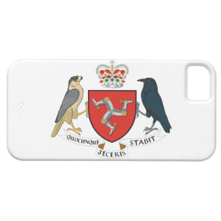 isle of man emblem barely there iPhone 5 case