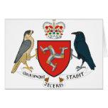 isle of man emblem cards