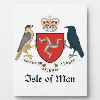 ISLE OF MAN - emblem/flag/symbol/coat of arms Plaque