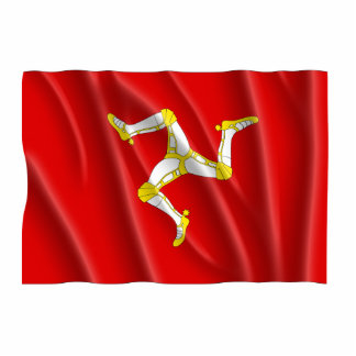 ISLE OF MAN FLAG PHOTO CUT OUTS