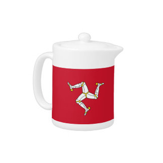 Isle of Man Flag Teapot