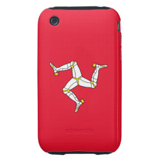 Isle of Man – Manx Flag iPhone 3 Tough Covers