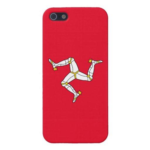 Isle of Man – Manx Flag iPhone 5 Case