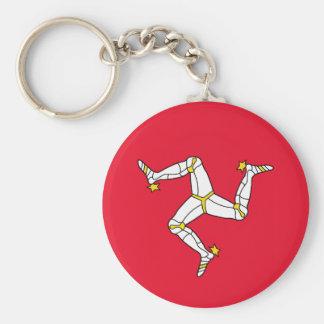 Isle of Man – Manx Flag Key Chain