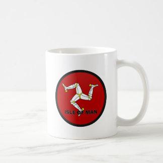 Isle Of Man Roundel quality Flag Coffee Mug
