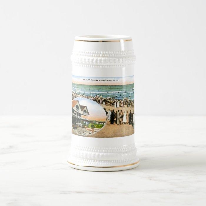 Isle of Palms, Charleston, South Carolina Beer Stein