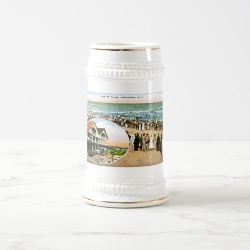 Isle of Palms, Charleston, South Carolina Beer Steins