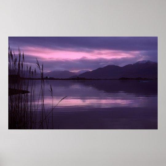 Isle of Skye. Dawn Poster