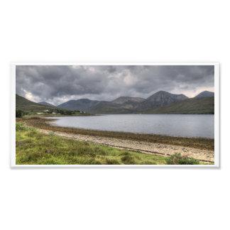 Isle of Skye Mountains Panorama Photo Print