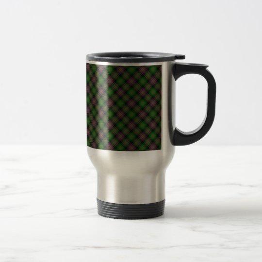 Isle of Skye Tartan Designed Print Travel Mug