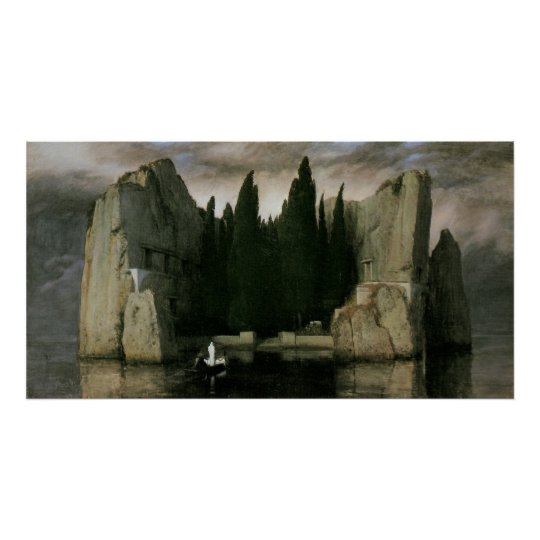 Isle of the Dead by Arnold Bocklin, Symbolism