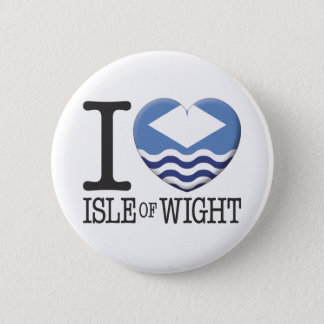 Isle Of Wight 6 Cm Round Badge