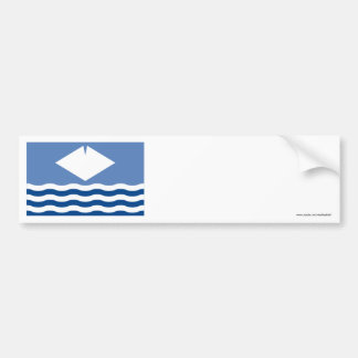 Isle of Wight Flag Bumper Sticker