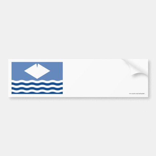 Isle of Wight Flag Bumper Stickers